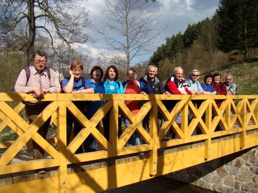 nový mostek přes Nedvědičku