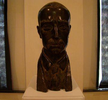 Rainer Maria Rilke, 2010-2011, bronz