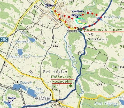 okolí Trnavy a Kobylinec 5.4.2012