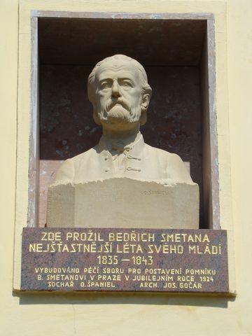 upomínka na Bedřicha Smetanu