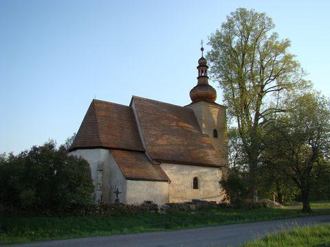 kostel sv. Markéty v Loukově 1