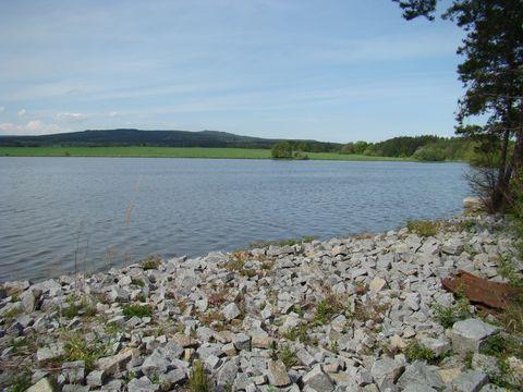rybník v Metlech