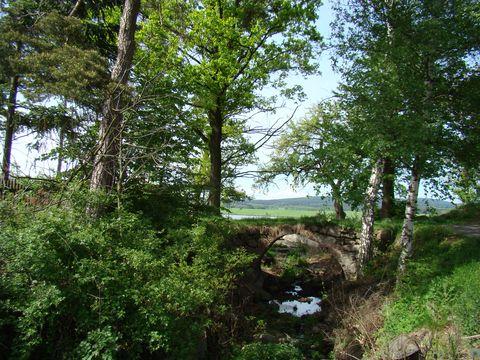 výtok z Metelského rybníka