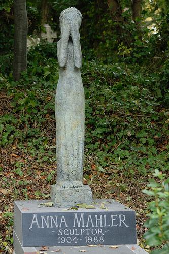 hrob sochařky Anny Mahlerové