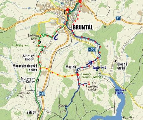 sopky v okolí Bruntálu 8.10.2010