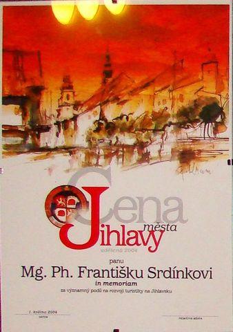 Cena města Jihlavy pro prvního předsedu