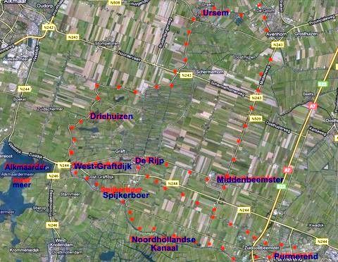 trasa ve středu 25.5.2011, tzv. Mlýnská cesta