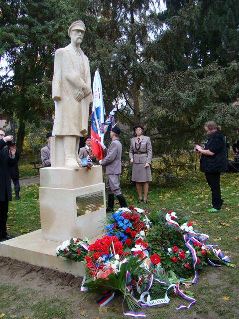 socha T. G. Masaryka v Jihlavě