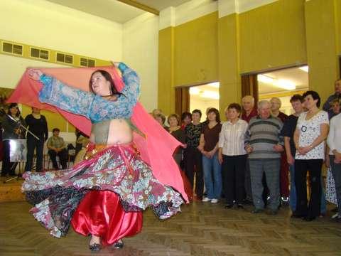 orientální tanec se líbil