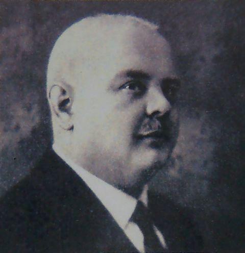 první předseda TK Čeřínek Mg.Ph. František Srdínko