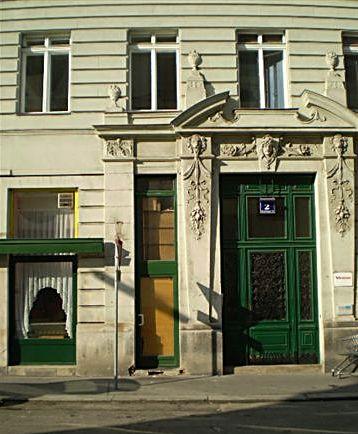 zelenými dveřmi chodili Mahlerovi domů