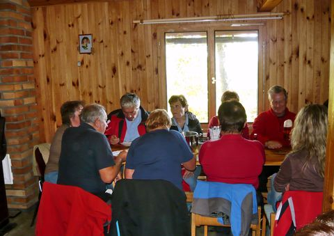 výborný oběd v chatě Na Modlani