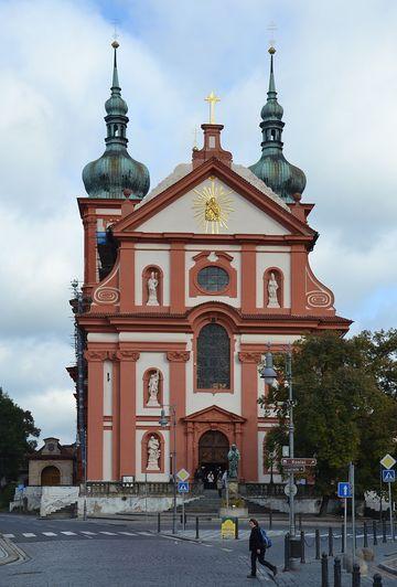 kostel Nanebevzetí Panny Marie ve Staré Boleslavi