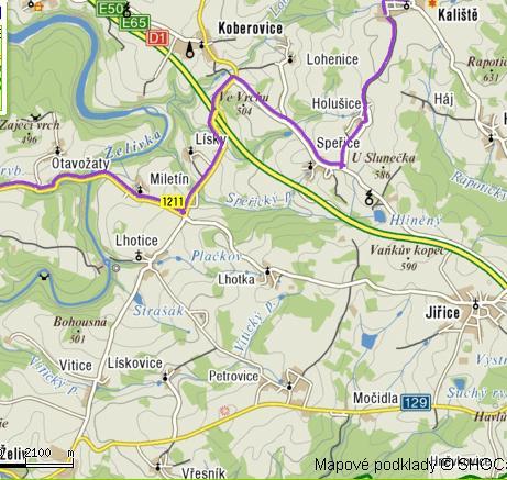 mapka Kalistě-2.část