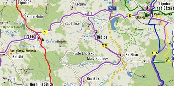 mapka Kalistě-1.část