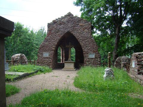 vojenský hřbitov u Náchoda