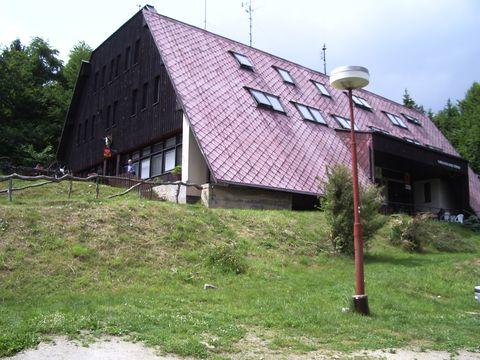 turistická chata na Čeřínku