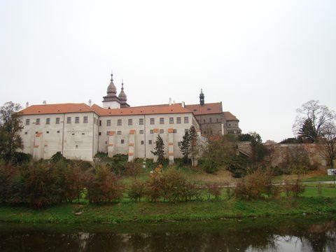 zámek a bazilika sv.Prokopa