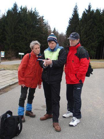 Dr.Smrčka se svými studenty