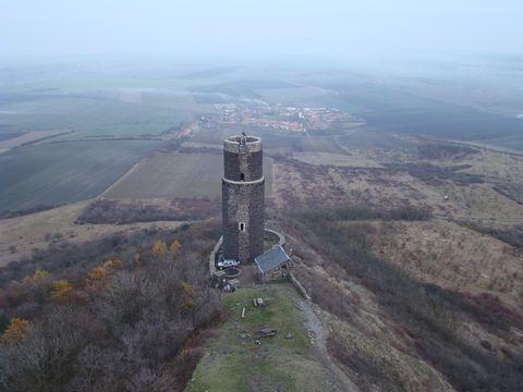 Černá věz hradu Hazmburk