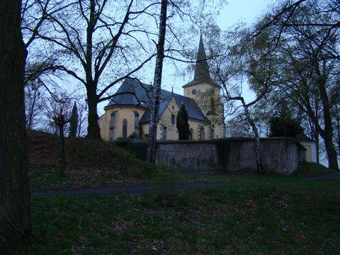 kostel sv.Petra a Pavla na valech