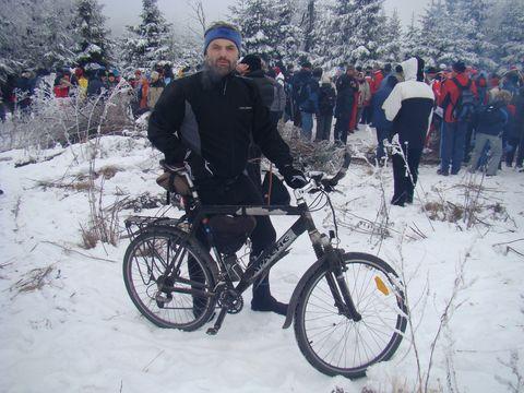 i cykloturisté podnikli poslední vyjízdku v roce