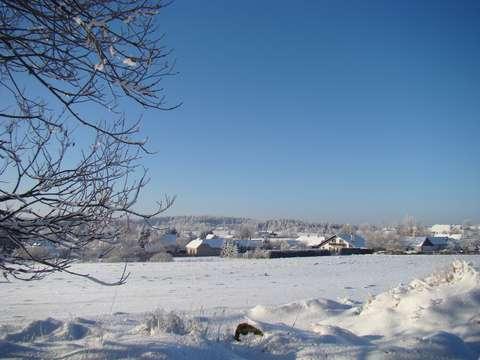zima pod Javořicí