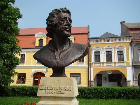 Matyás Braun v Jaroměři