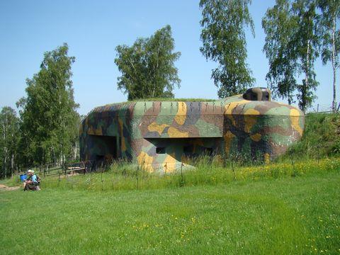 pěchotní srub Březinka na kopci nad Náchodem
