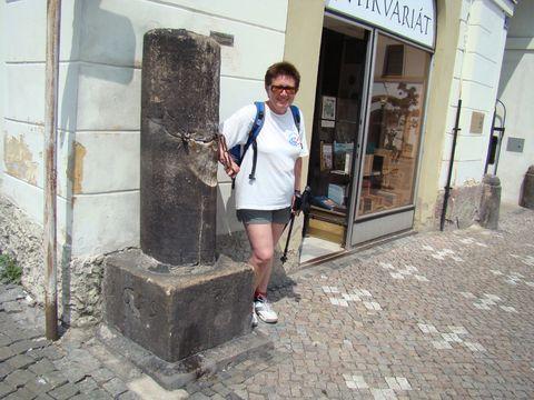 náchodský pranýř ze 17. století
