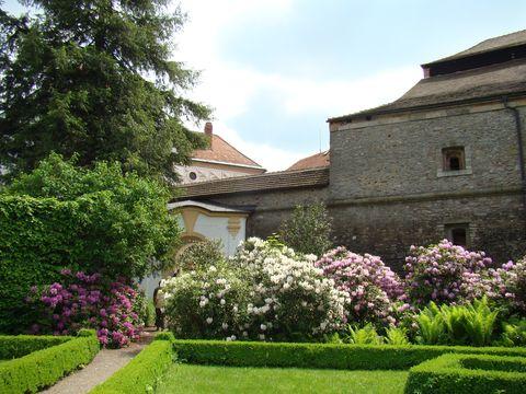 barokní zahrada na Náchodském zámku