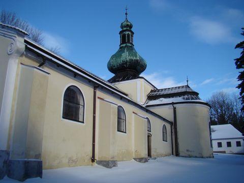 kostel Nejsvětějsí Trojice