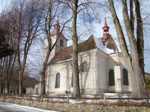 kostel v Novém Rychnově