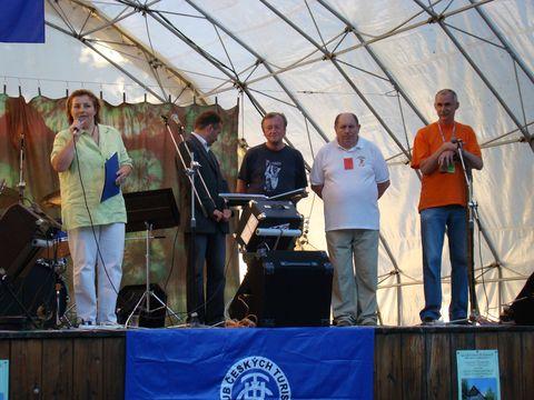 slavnostní zahájení LTS v Lázních Bělohrad