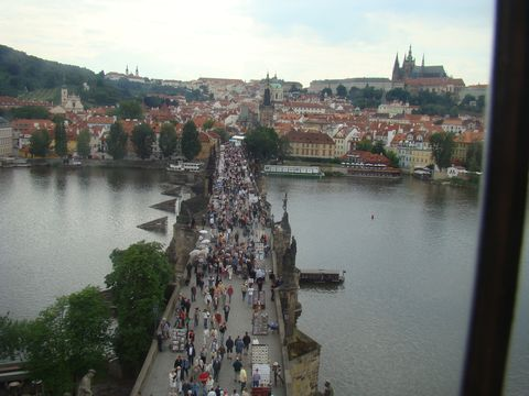 nejznámějąí pohled na Prahu
