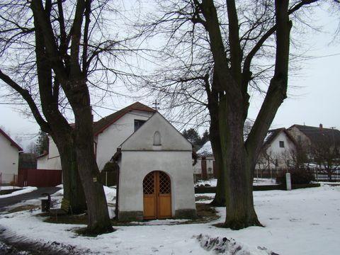 kaplička sv. Jana Nepomuckého v Okrouhličce