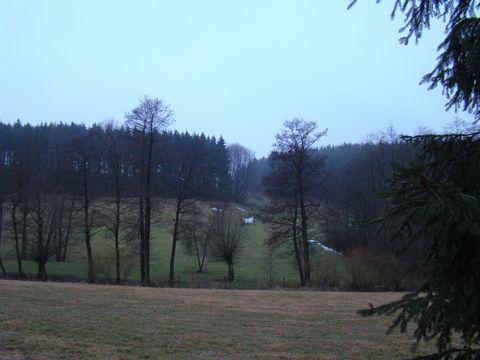 údolí Ochozského potoka