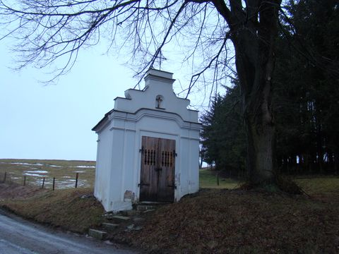 kaplička u Podleského Mlýna