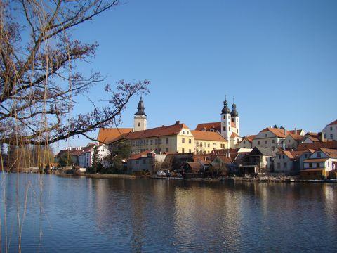 jezuitské barokní stavby v Telči