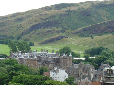 sídlo královny v Edinburku, palác Holyrood