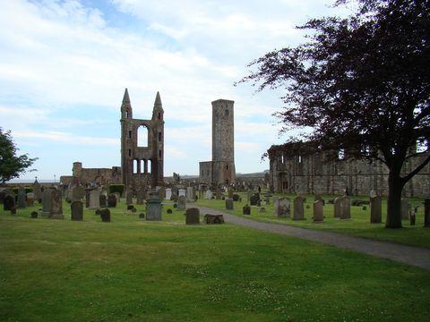 zbytky katedráky v St.Andrews 1
