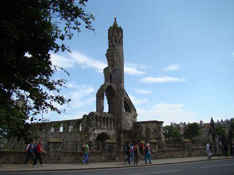 zbytky katedrály v St.Andrews 2