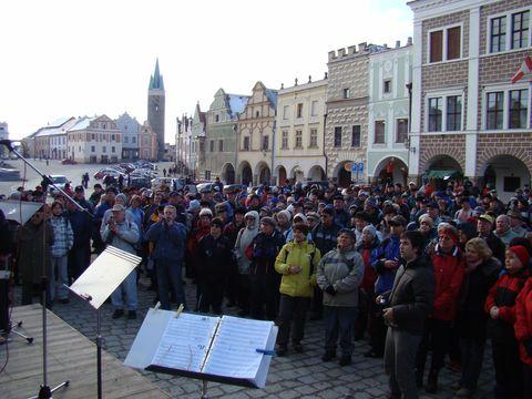 zahájení sezóny na náměstí Zachariáse z Hradce