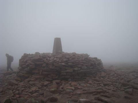 vrchol Ben Macdhui