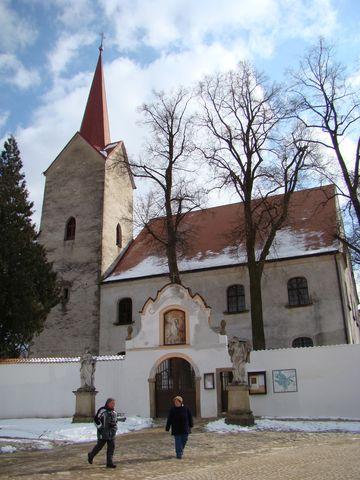 kostel Matky Boľí