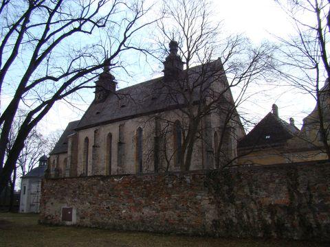 klásterní kostel sv. Ondřeje v Pohledu