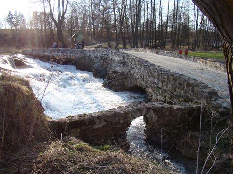 tudy vedla Haberská stezka z Brodu do Polné