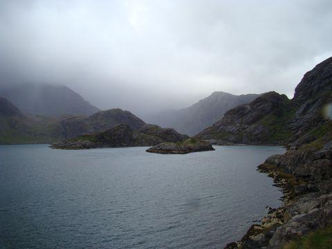 jdeme k jezeru Coruisk