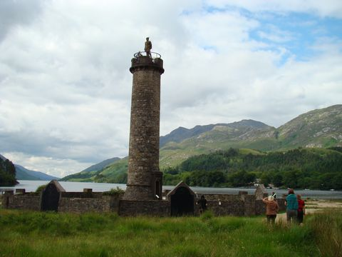 Glenfinnan u Loch Shiel