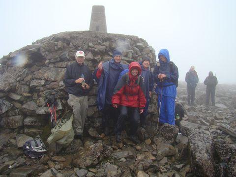 na vrcholu Ben Nevisu 1